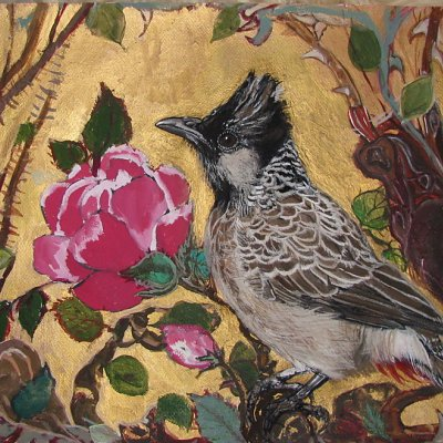 Bulbul and the Rose