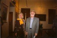 My first meeting with Mahmoud Farshchian-Saadabad-Teheran-Iran-October 2003