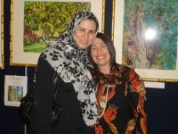 my great friend Zahra from Mission of Iran