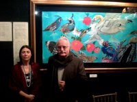 Mahmoud Farshchian Laurie at National Arts Club Exhibition